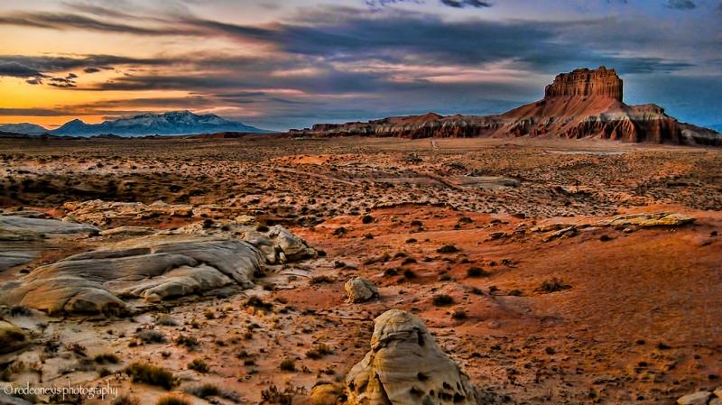 San Rafael Desert, just to the East of the San Rafael Anticline