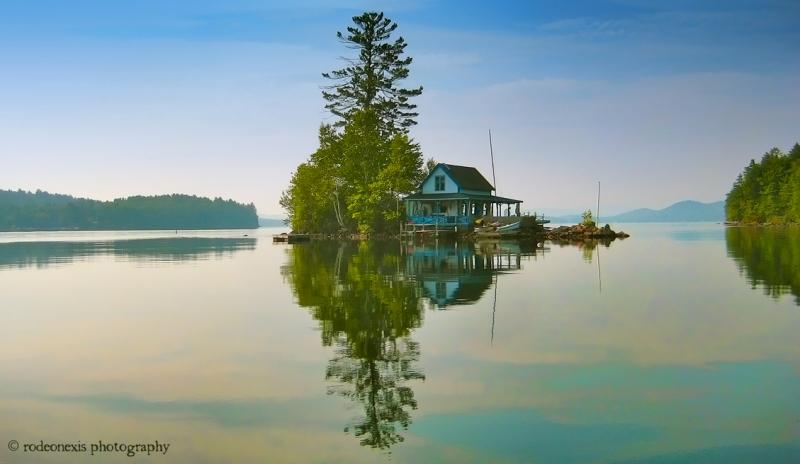 Loon Island, Newfound Lake, NH