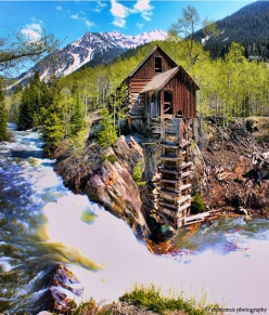 Hydroelectric Mill outside Crystal, CO