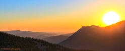 Longs Peak Sunrise Panoramic