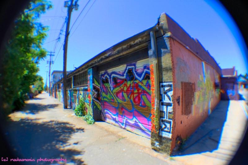Sante Fe Alley Graffiti