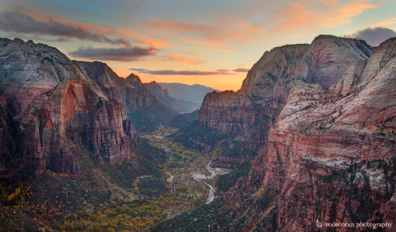 Angel's Landing Sunset