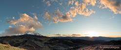 Crown Trail Sunset Panorama