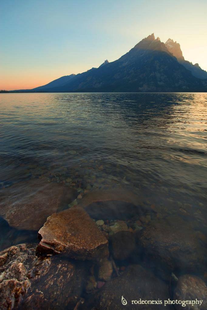 Teton Range from Jenny Lake, WY