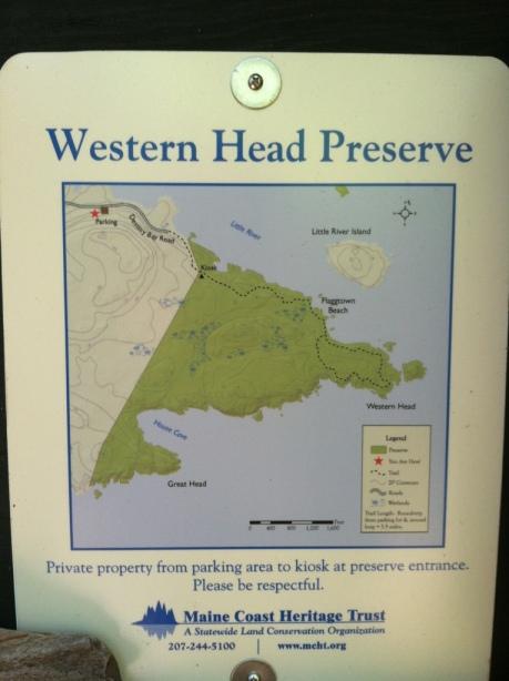 Western Head Preserve Map
