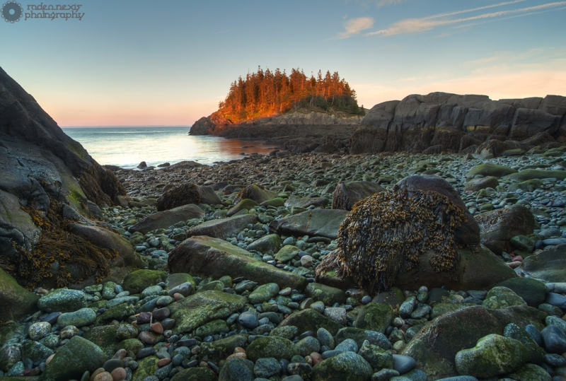Western Head Preserve is a rocky expanse that peers deep into the Gulf of Maine. Cutler Coast, ME