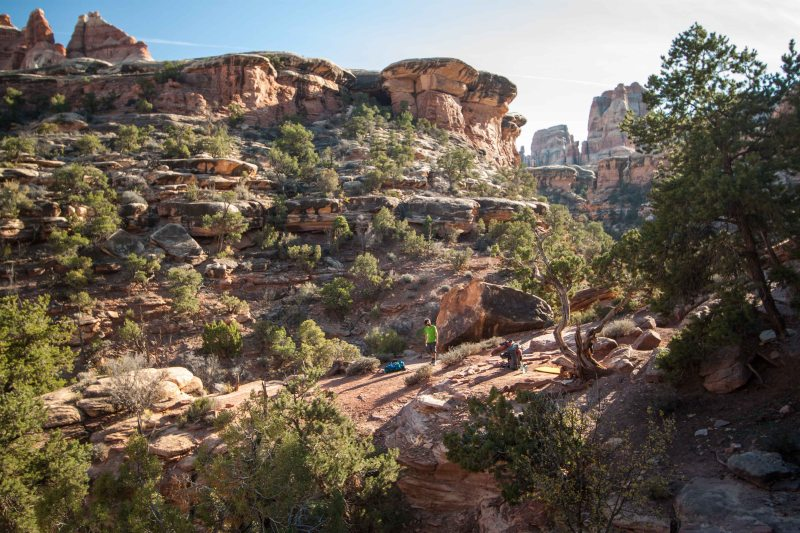 Elephant Canyon 3 (EC3) Campsite, deep within The Needles