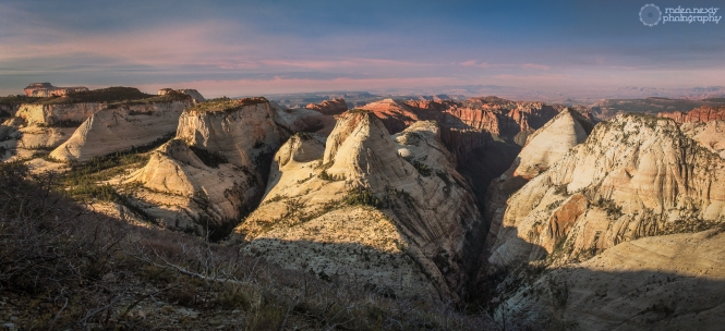 A magnificent view from the West Rim's Campsite 5